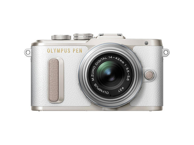 Mirrorless Olympus PEN E-PL8 с обектив ED 14-42mm f/3.5-5.6 EZ