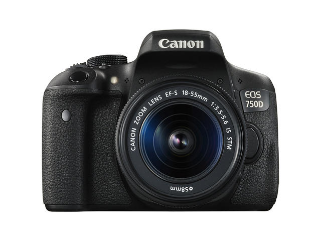 DSLR Canon EOS 750D с обектив 18-55mm f/3.5-5.6 IS STM