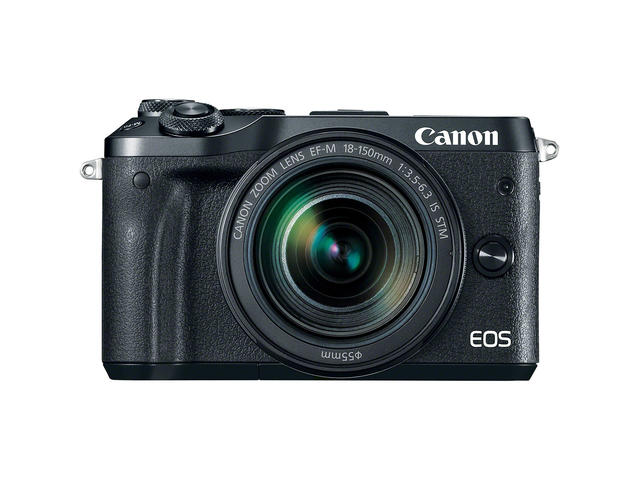 Mirrorless Canon EOS M6 с 18-150mm f/3.5-6.3 IS STM
