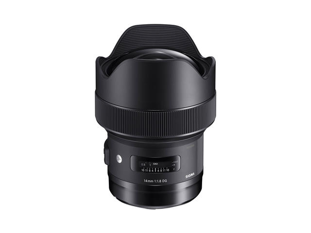 DSLR обективи Sigma 14mm f/1.8 DG HSM Art