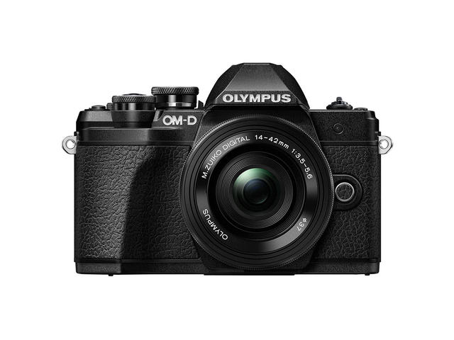 Mirrorless Olympus OM-D E-M10 Mark III с ED 14-42mm f/3.5-5.6 EZ