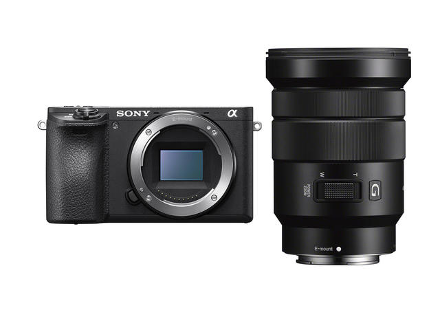 Mirrorless Sony Alpha 6500 с 18-105mm f/4 G OSS