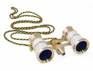Бинокли Levenhuk Broadway 325F Opera Glasses White