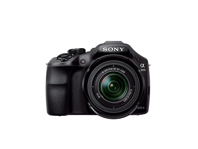 Mirrorless Sony Alpha 3000 с обектив 18-55mm f/3.5-5.6 OSS