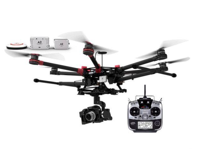 Дронове DJI Spreading Wings S900 HEXA + A2