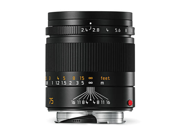 Mirrorless обективи Leica Summarit-M 75mm f/2.4 ASPH