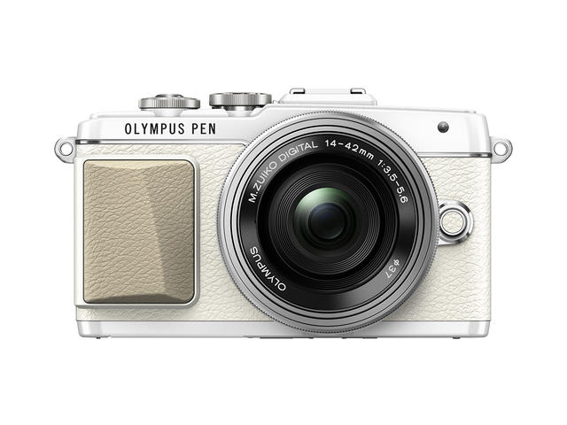 Mirrorless Olympus Pen E-PL7 с обектив ED 14‑42mm f/3.5-5.6 EZ